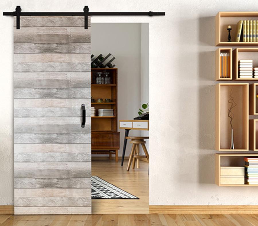 Dividers By Coxusa Contemporary Wood Barn Door Hwd 89