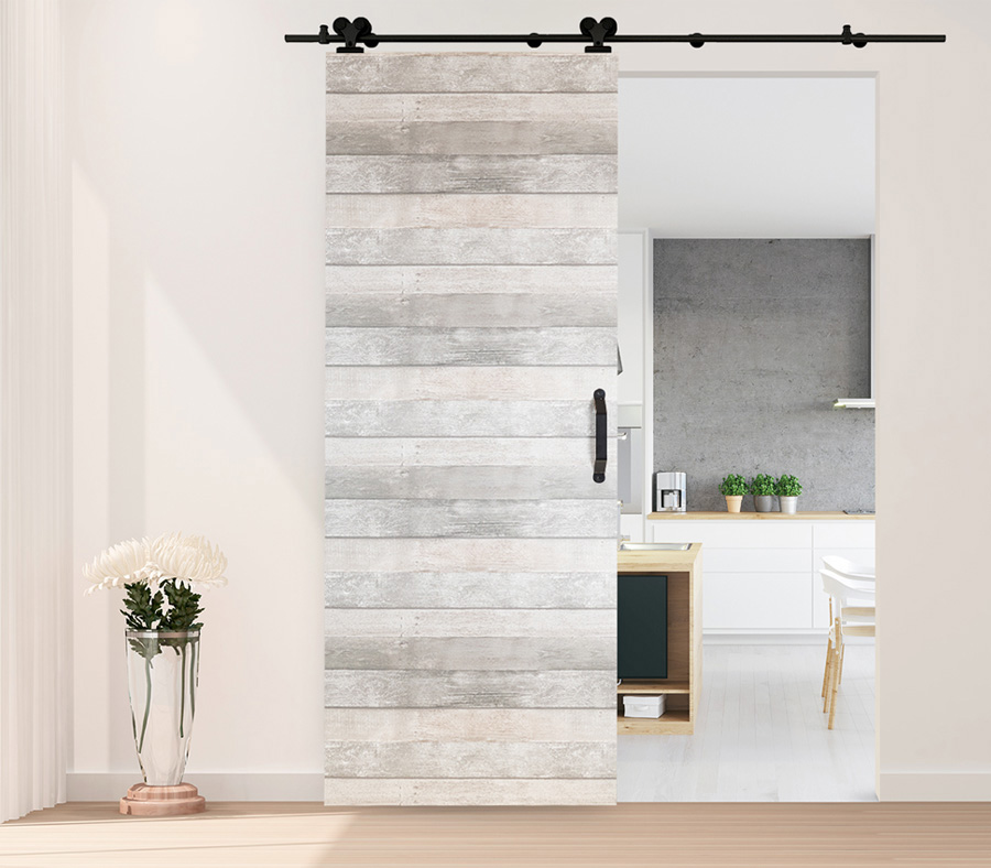 Dividers By Coxusa Contemporary Wood Barn Door Hwd 91 470