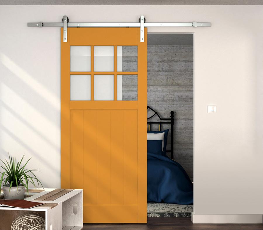Dividers By Coxusa Steel Barn Door Hardware In Stainless Steel Finish 89 Series